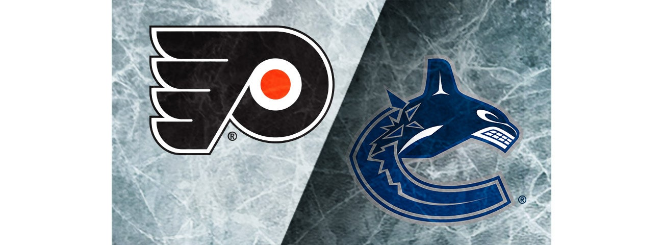 Flyers vs. Canucks