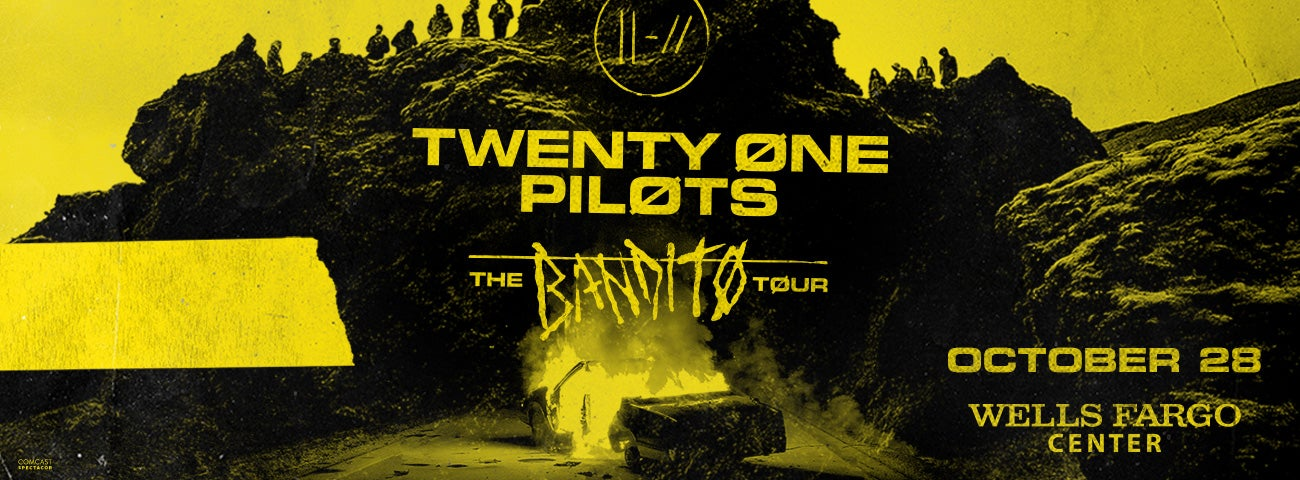 Twenty One Pilots Bring 'The Bandito Tour' to Wells Fargo Center on