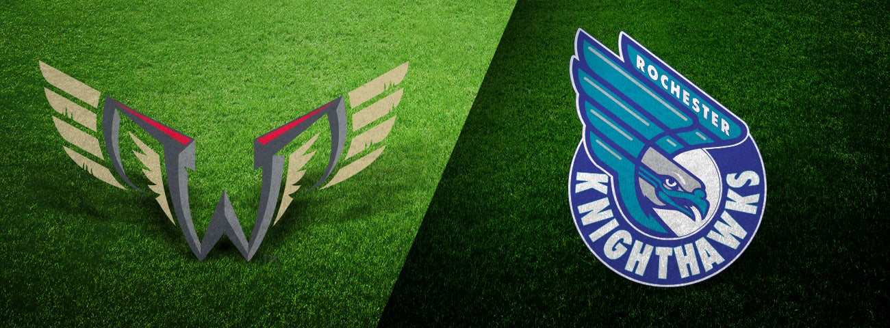 Philadelphia Wings vs. Rochester Knighthawks