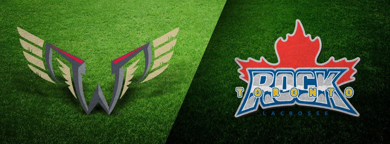 Philadelphia Wings vs. Toronto Rock