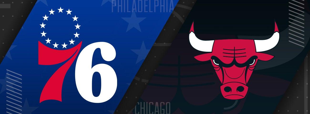 76ers vs Chicago Bulls
