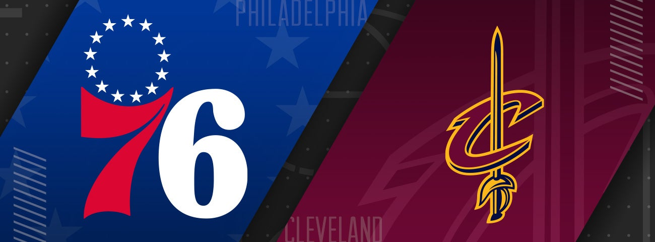 76ers vs Cleveland Cavaliers