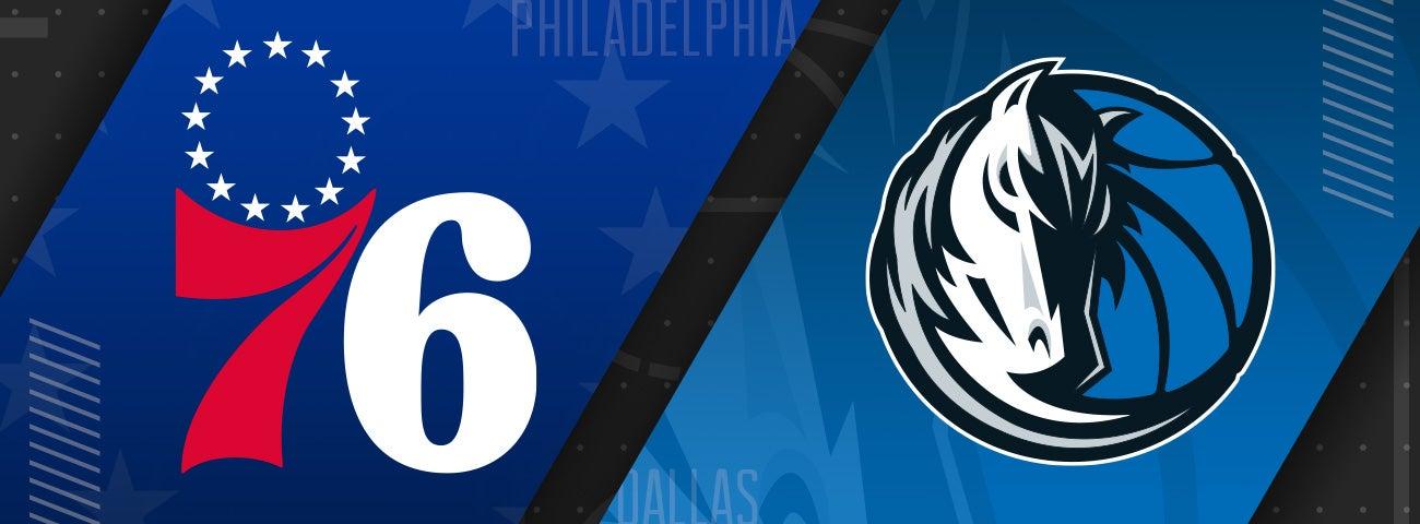 76ers vs Dallas Mavericks