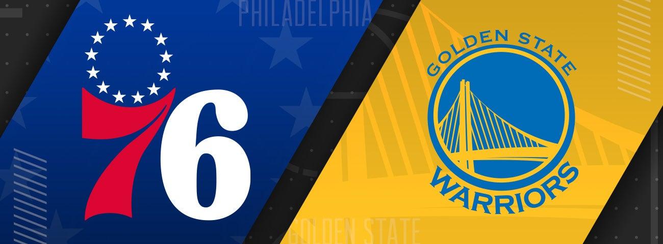 76ers vs Golden State Warriors