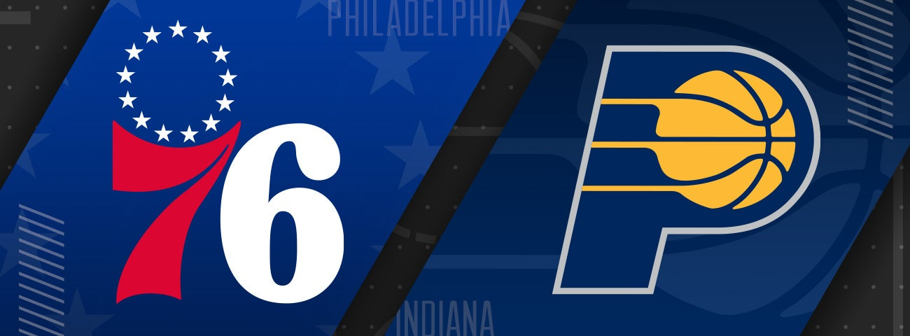 76ers vs Indiana Pacers