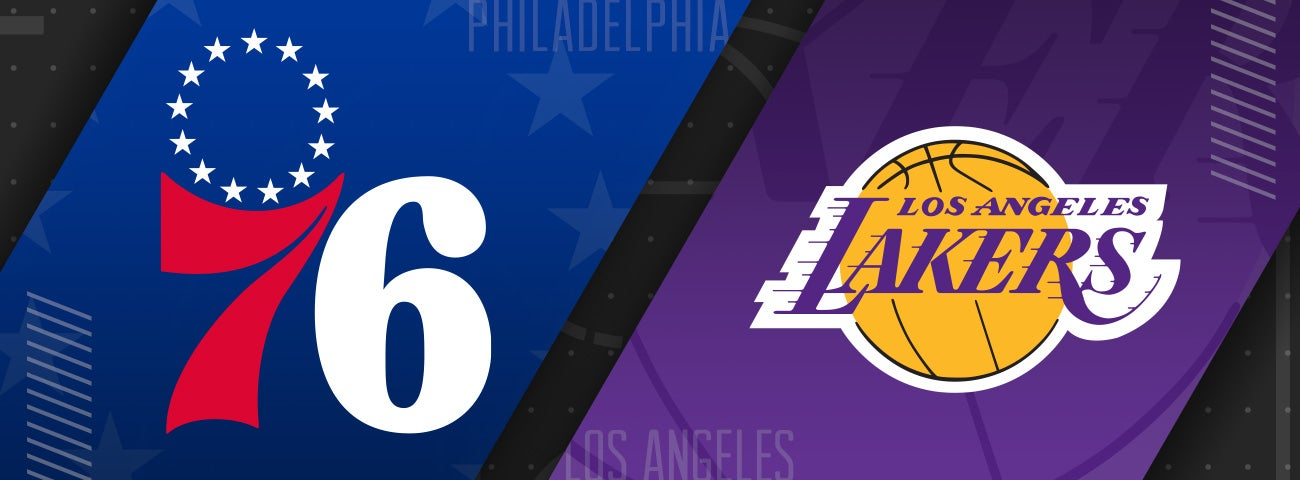 76ers vs Los Angeles Lakers