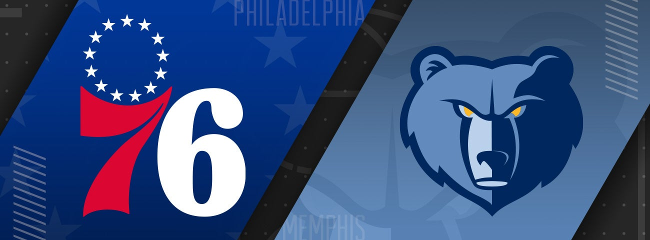 76ers vs Memphis Grizzlies