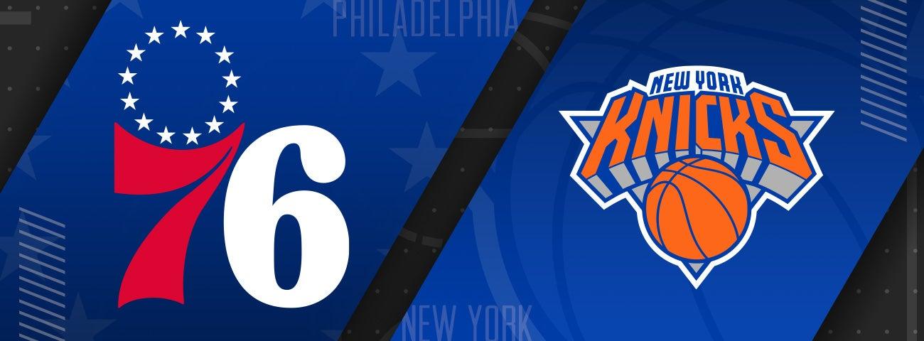 76ers vs New York Knicks