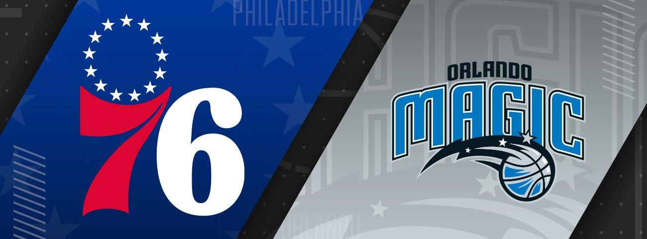 76ers vs Orlando Magic