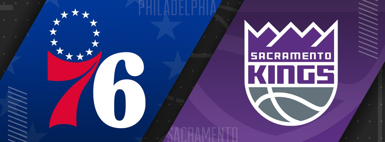 76ers vs Sacramento Kings