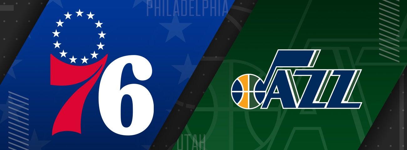 76ers vs Utah Jazz