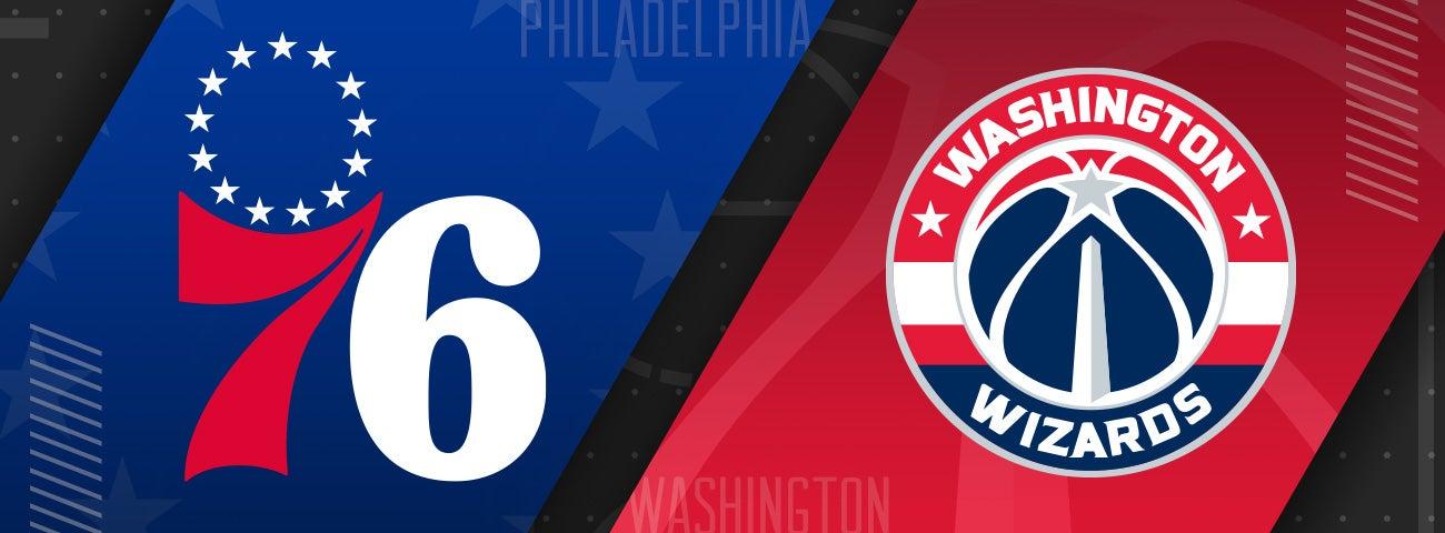 76ers vs Washington Wizards