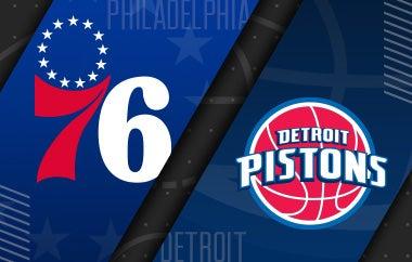 More Info for 76ers vs Detroit Pistons