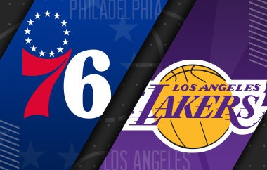 More Info for 76ers vs Los Angeles Lakers