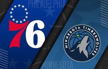 More Info for 76ers vs Minnesota Timberwolves