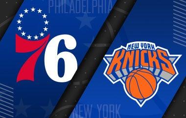 More Info for 76ers vs New York Knicks
