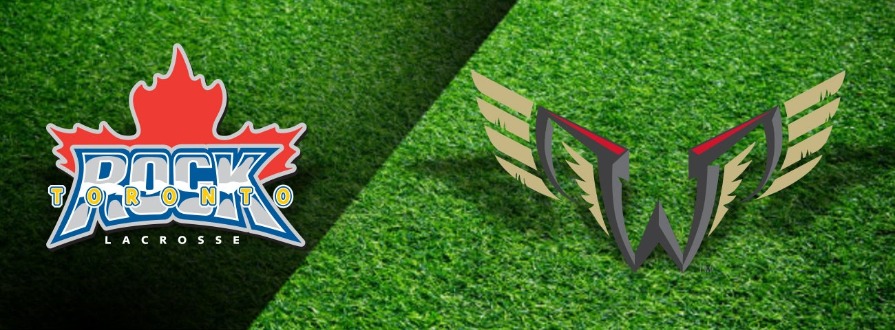 Toronto Rock vs. Wings