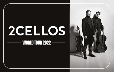 2Cellos Announce 2022 U.S. Tour With Performance At Wells Fargo Center On April 1