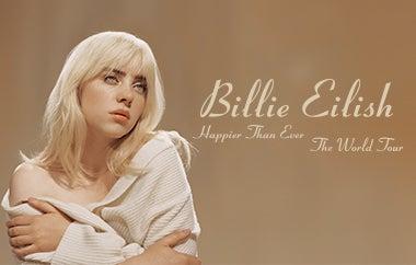 Billie Eilish Announces Happier Than Ever, The World Tour