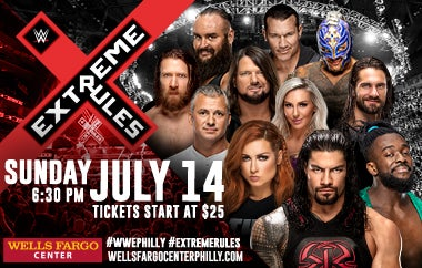 More Info for WWE Extreme Rules