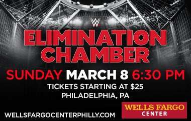 WWE Elimination Chamber To Make Philadelphia Debut At Wells Fargo Center On March 8, 2020