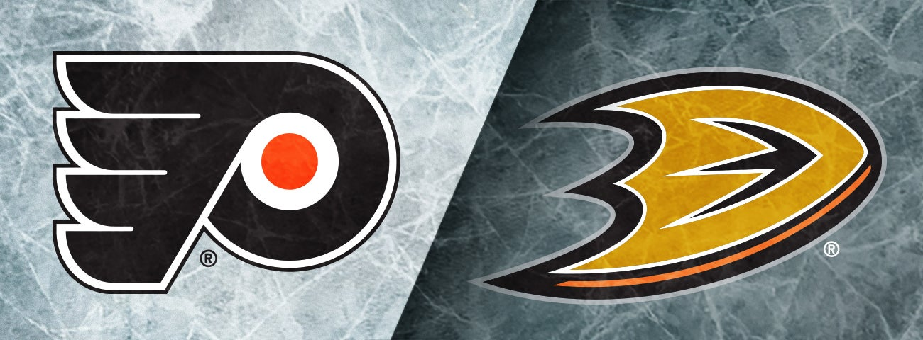 Flyers vs. Anaheim Ducks