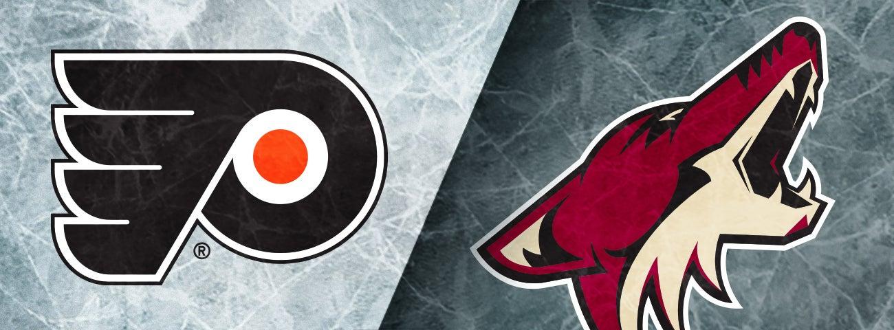 Flyers vs. Coyotes