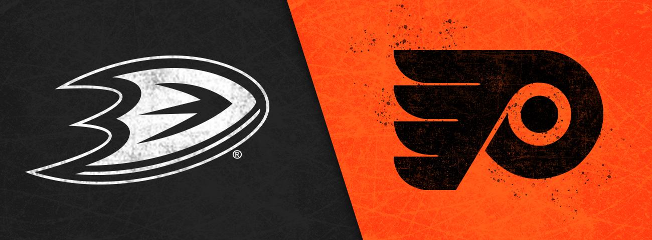 Ducks vs. Flyers