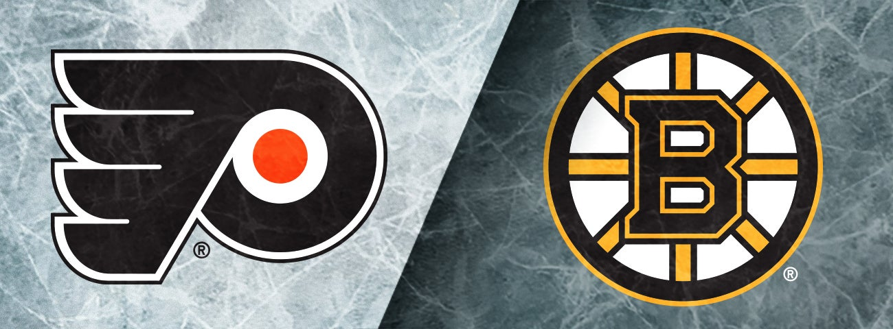 Flyers vs. Boston Bruins