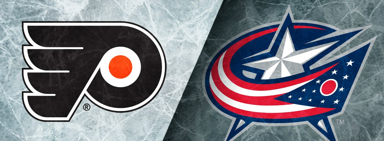 Flyers vs. Columbus Blue Jackets