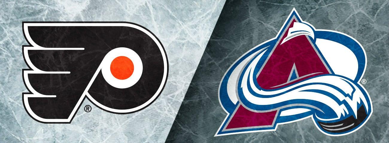 Flyers vs. Avalanche