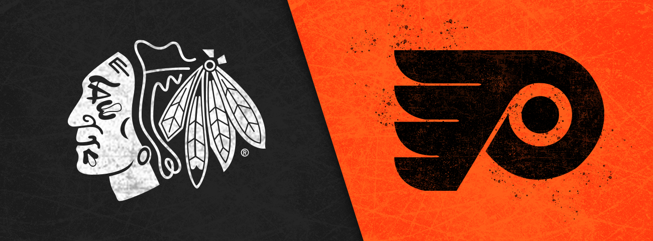 Blackhawks vs. Flyers