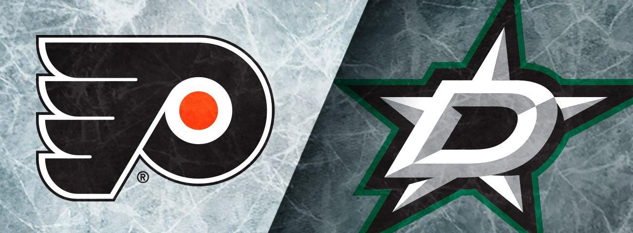 Flyers vs. Dallas Stars