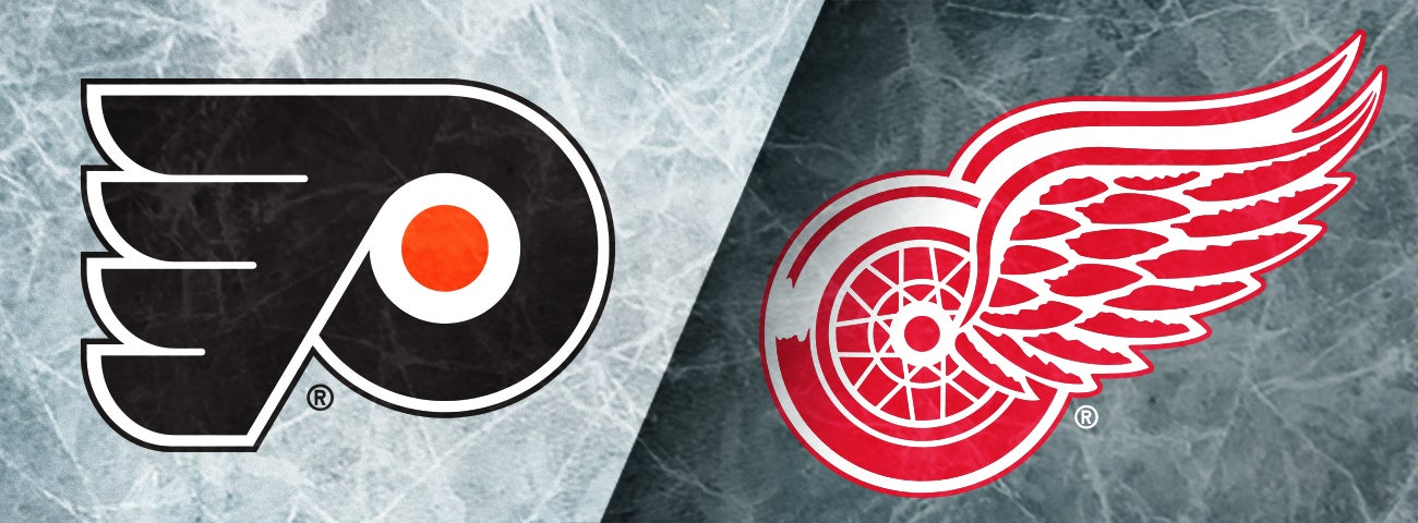 Flyers vs. Red Wings