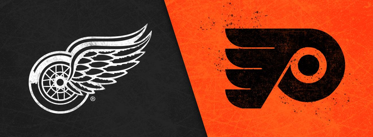 Red Wings vs. Flyers