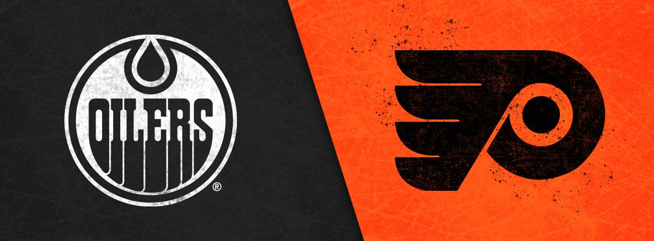 Flyers vs Oilers