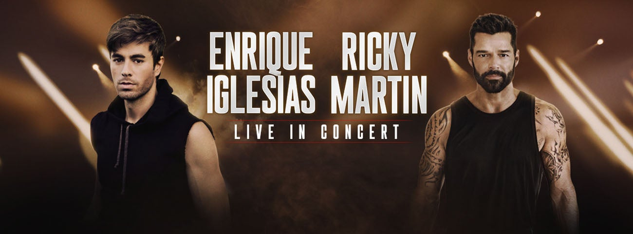 (New Date) Enrique Iglesias & Ricky Martin