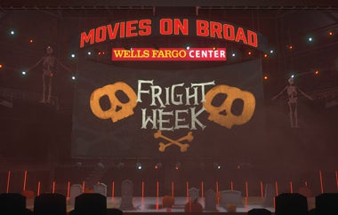 "Wells Fargo Center Announces ""Movies On Broad: Fright Week"" In-Arena Movie Experience"
