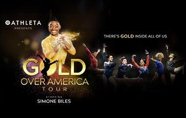 Simone Biles Headlines Athleta Presents Gold Over America Tour, To Visit Wells Fargo Center On November 5, 2021