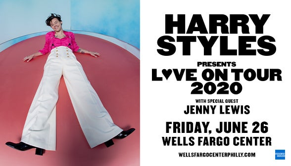 Harry Styles Announces World Tour With Performance At Wells Fargo Center On June 26, 2020