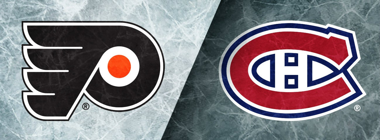 Flyers vs. Canadiens
