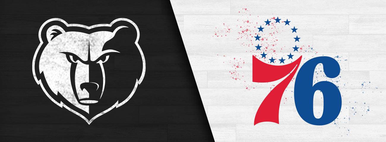 Grizzlies vs. 76ers