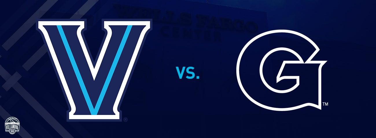 Georgetown Hoyas vs. Villanova