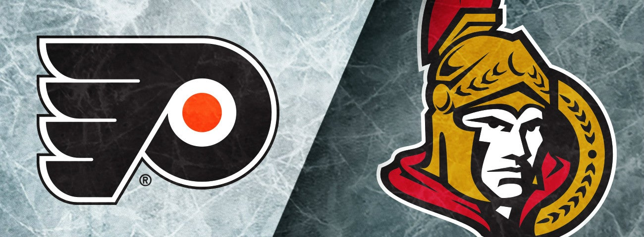 Flyers vs. Ottawa Senators