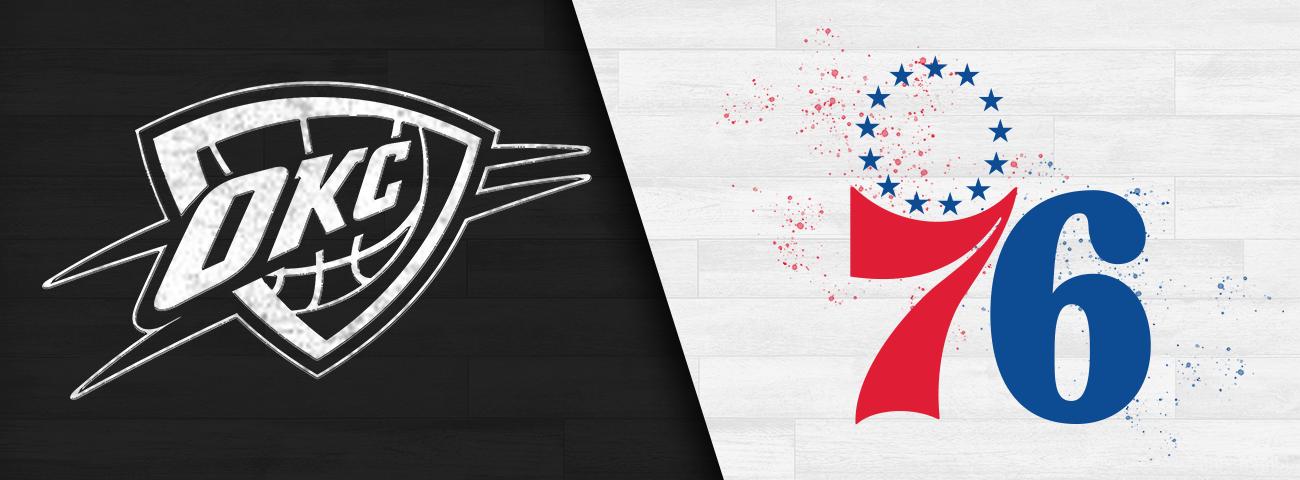 Thunder vs. 76ers