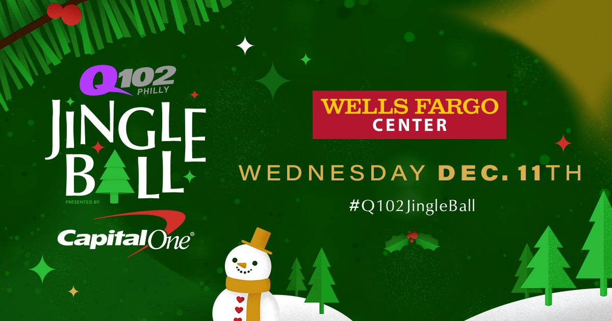 Christmas Shows In Philadelphia 2019.Q102 Jingle Ball 2019 Presented By Capital One Rings In The