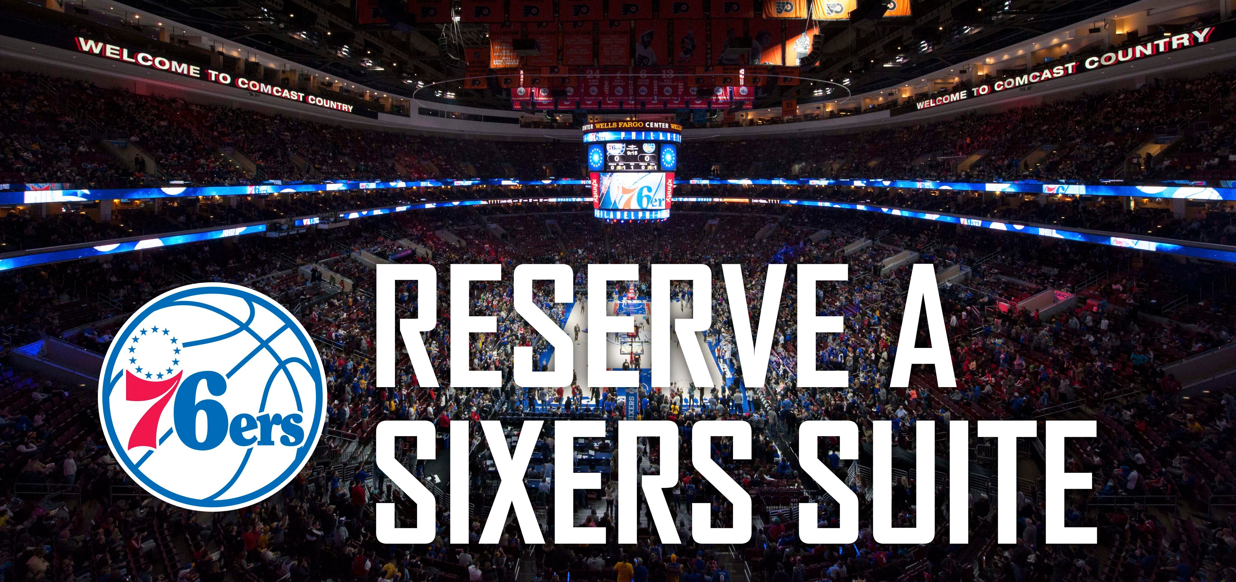 Reserve a Sixers Suite 66f