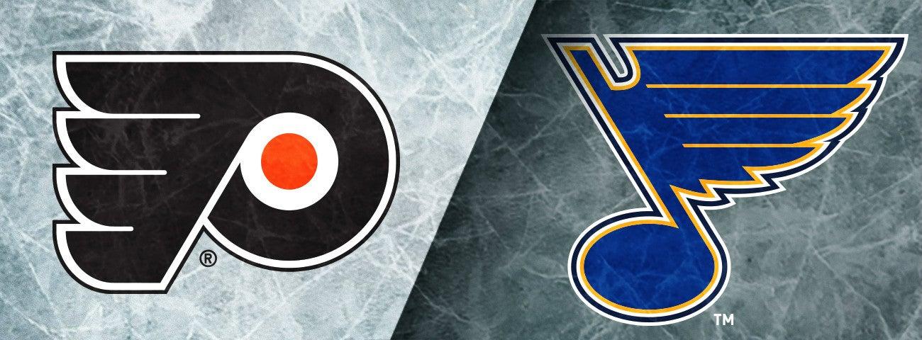 Flyers vs Blues