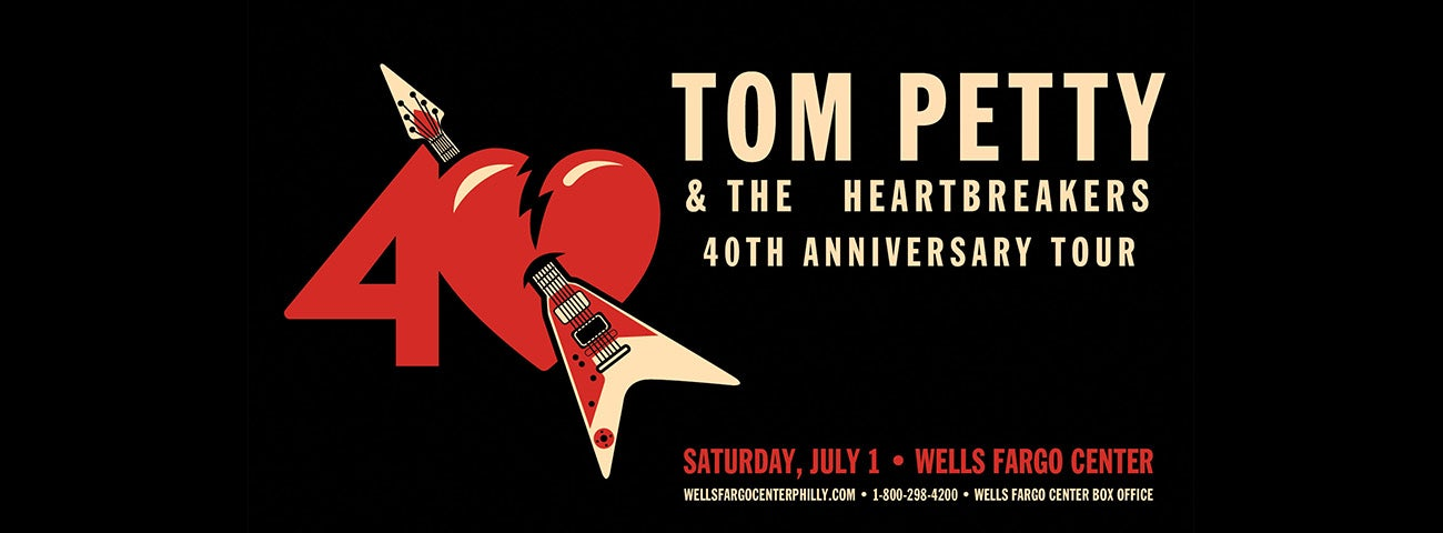 music icons tom petty and the heartbreakers bring 40th. Black Bedroom Furniture Sets. Home Design Ideas