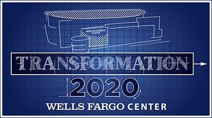Wells Fargo Center Reveals Next Phase of 'Transformation 2020' Advancements